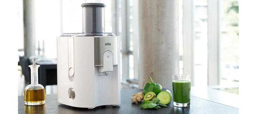 BRAUN juicer J500 WH dominokala 01 - آبمیوه گیری براون مدل J500 WH