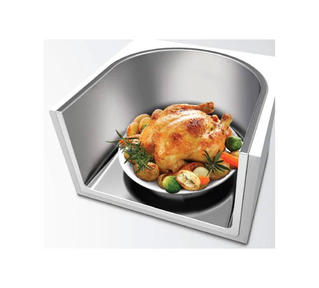 microwave LG MS97BCR Dominokala 9 - مایکروویو ال جی سولاردام MS97TCR