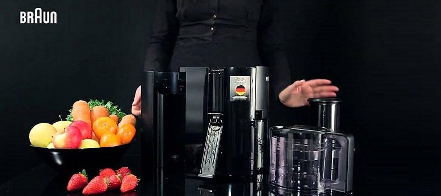 BRAUN juicer J300 dominokala 04 - آبمیوه گیری براون مدل j300