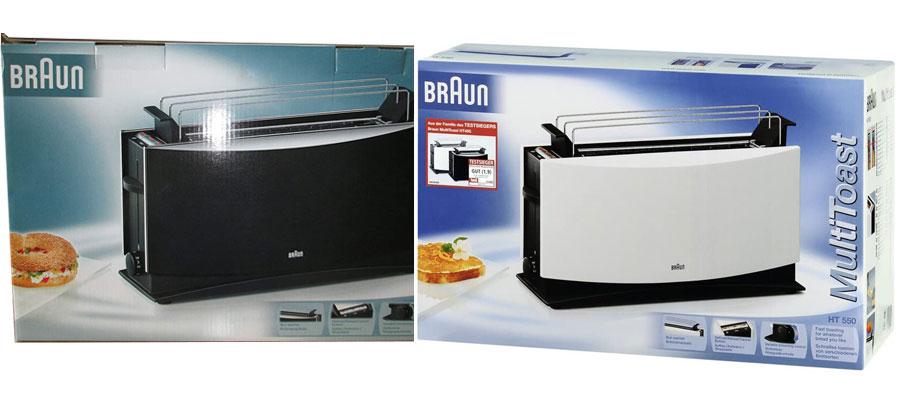 BRAUN toaster HT550 dominokala 013 - توستر براون HT550