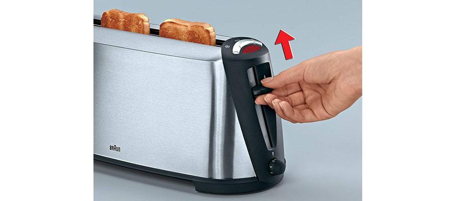 BRAUN toaster HT600 dominokala 010 - توستر براون HT600