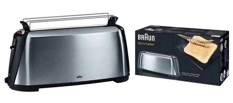 BRAUN toaster HT600 dominokala 08 - توستر براون HT600