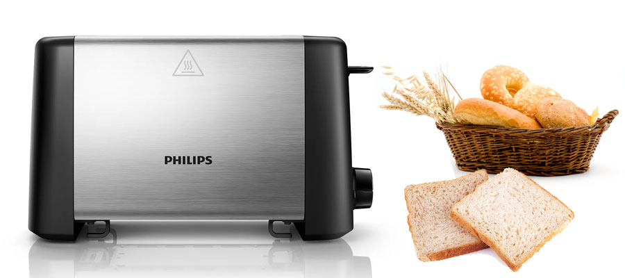 PHILIPS toaster HD4825 DOMINOKALA 07 - توستر فیلیپس HD4825