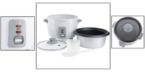 Rice cooker Multi cooker Sencor 0600WH Rice Cooker Dominokala 13 300x150 - پلوپز سنکور SRM 0600WH