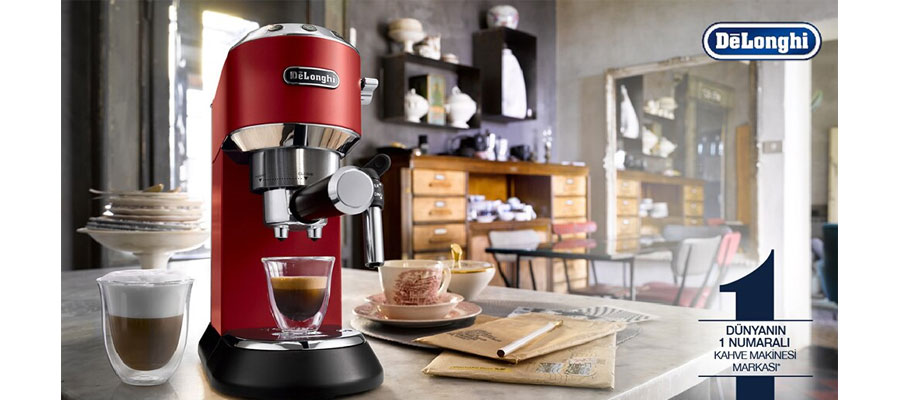 delonghi ec 685.R Espresso MAKER DOMINOKALA 9 - اسپرسوساز دلونگی EC 685.R