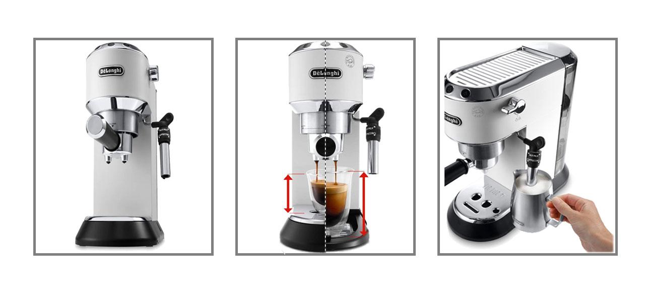 delonghi ec685.w Espresso MAKER DOMINOKALA 90 - اسپرسوساز دلونگی EC 685.W