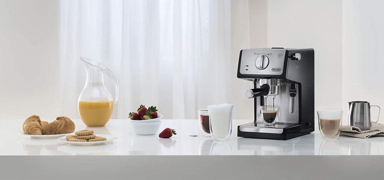 delonghi ecp 35.31 Espresso MAKER DOMINOKALA 11 - اسپرسوساز دلونگی ECP 35.31