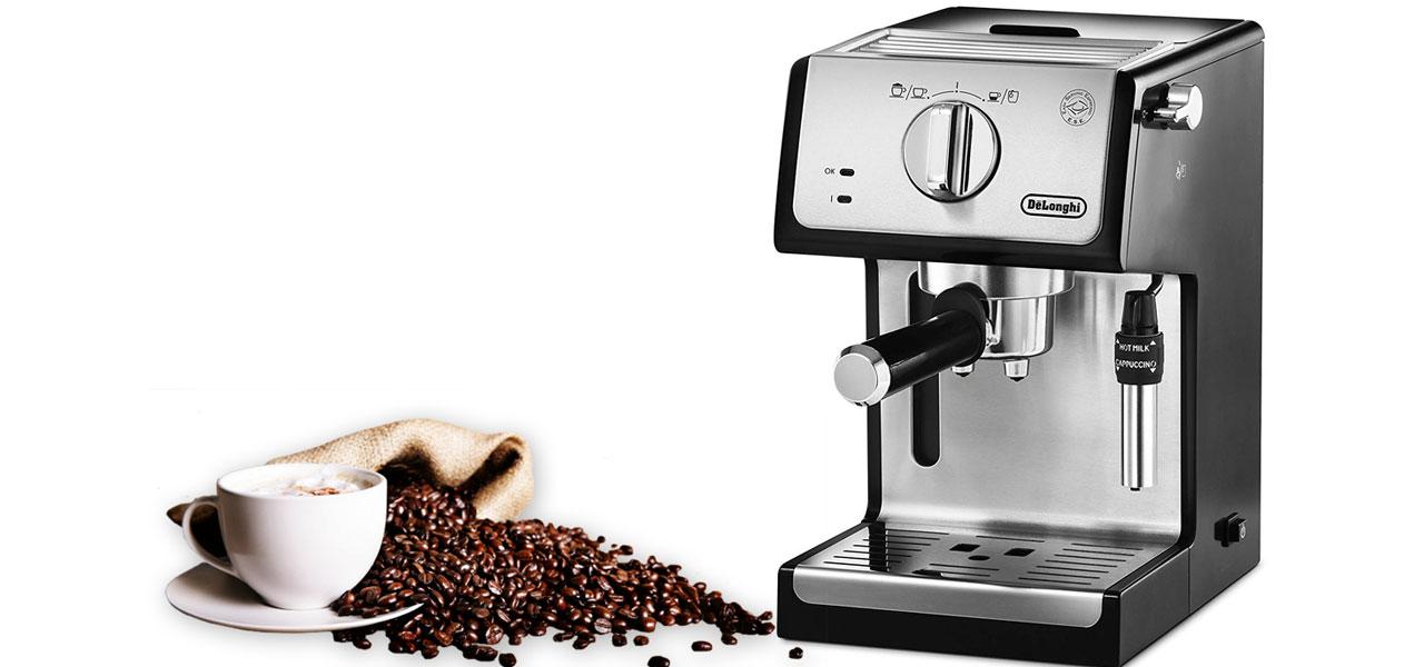 delonghi ecp 35.31 Espresso MAKER DOMINOKALA 12 - اسپرسوساز دلونگی ECP 35.31