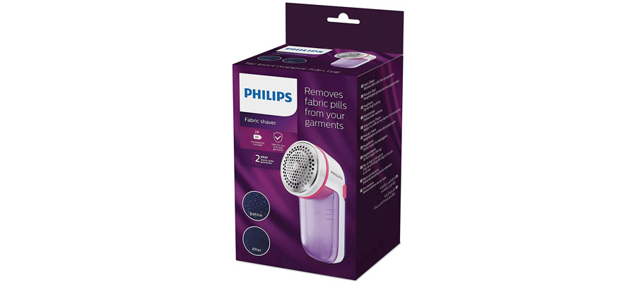 PHILIPS fabric shaver GC026 dominokala 05 - پرزگیر لباس فیلیپس GC026