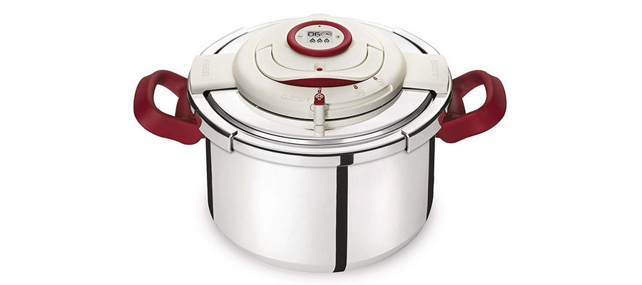 TEFAL pressure cooker CLIPSOPRECISION8 dominokala 05 - زودپز 8 لیتری تفال CLIPSO + PRECISION