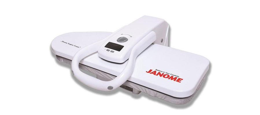 JANOME Steam Press Iron 3000 dominokala 05 - اتو پرس ژانومه 3000