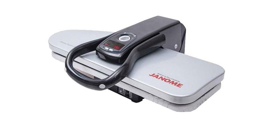 JANOME Steam Press Iron 3300 dominokala 05 - اتو پرس ژانومه 3300