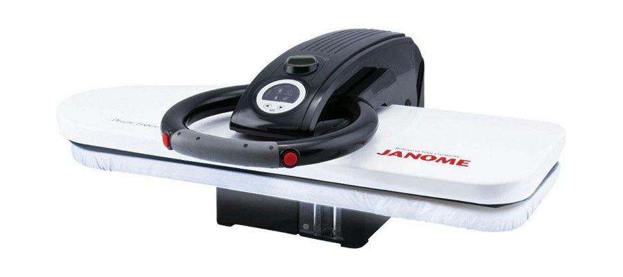 JANOME steam press iron 2500 dominokala 04 - اتو پرس ژانومه 2500