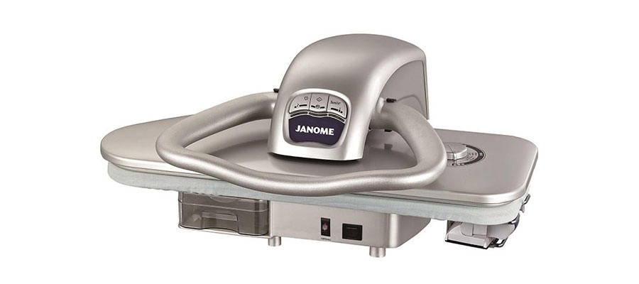 JANOME steam press iron 5300 DOMINOKALA 02 - اتو پرس ژانومه 5300