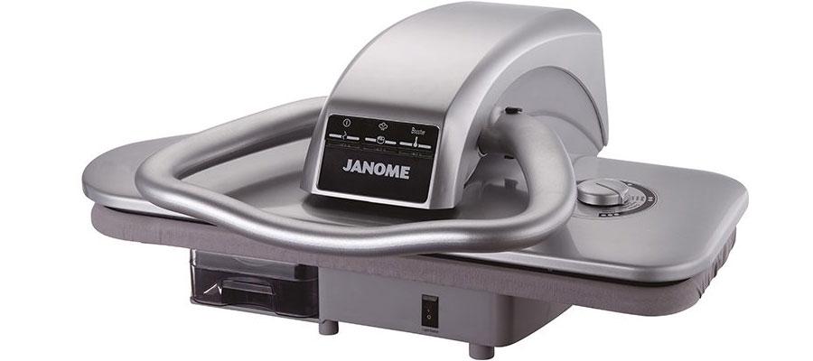 JANOME steam press iron 7100 DOMINOKALA 06 - اتو پرس ژانومه 7100
