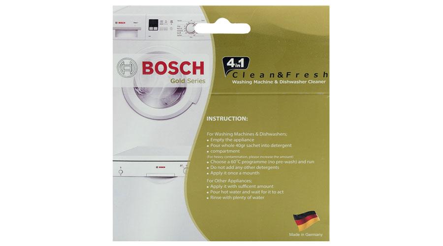 bosch 4in1 washing machine dishwasher powder dominokala 05 - جرم گیر ماشین لباسشویی و ظرفشویی 5 عددی بوش GOLD CLEAN AND FRESH 4in1