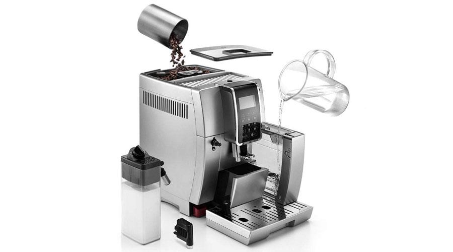 delonghi espresso maker ecam35075s dominokala 014 - اسپرسوساز دلونگی ECAM 350.75.S