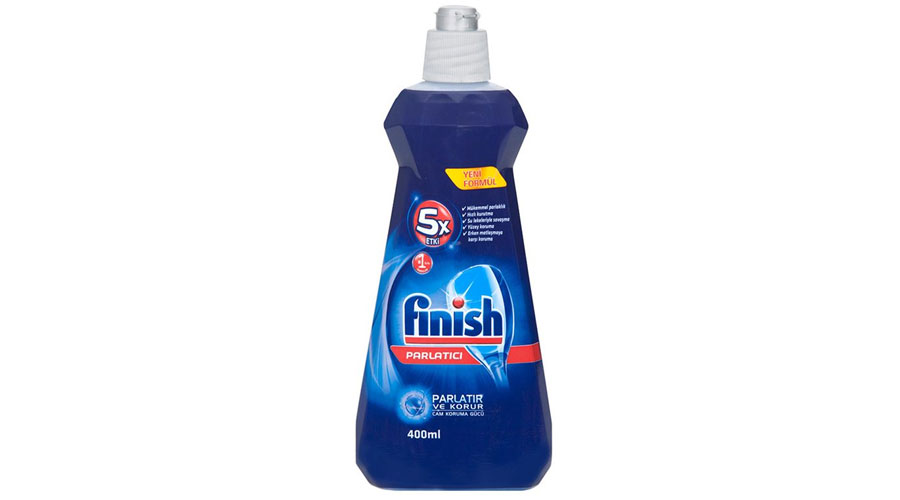 finish dishwasher shiner liquid 400ml dominokala 04 - مایع جلا دهنده ظروف 400 میلی لیتر فینیش Finish 5X