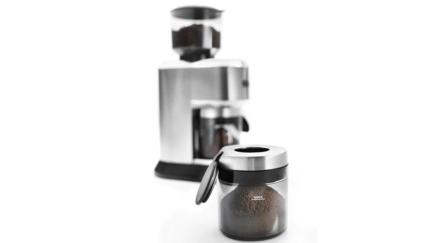 delonghi coffee grinder kg 520 m dominokala 011  - آسیاب قهوه دلونگی KG 520.M