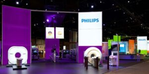نمایشگاه لوازم خانگی و اتو بخار فیلیپس
