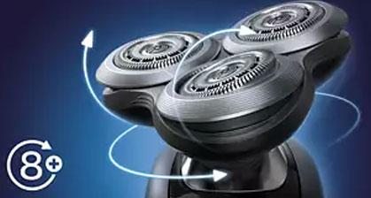 philips electric shaver S9031 dominokala 13 - ریش تراش فیلیپس S9031