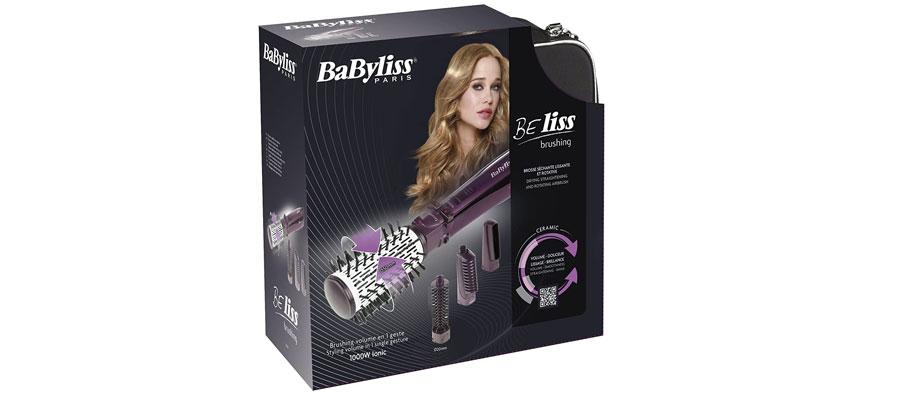 Babyliss 2736E Rotating Brush dominokala 012 - سشوار مو بابلیس 2736E