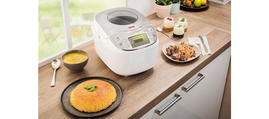 Tefal RK8121 45 in 1 Rice and Multicooker dominokala 08 - مولتی کوکر تفال RK8121