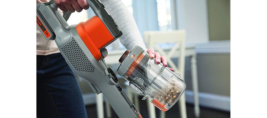 black decker chargeable vacuum cleaner bhfev182c dominokala 16 - جارو شارژی بلک اند دکر BHFEV182C