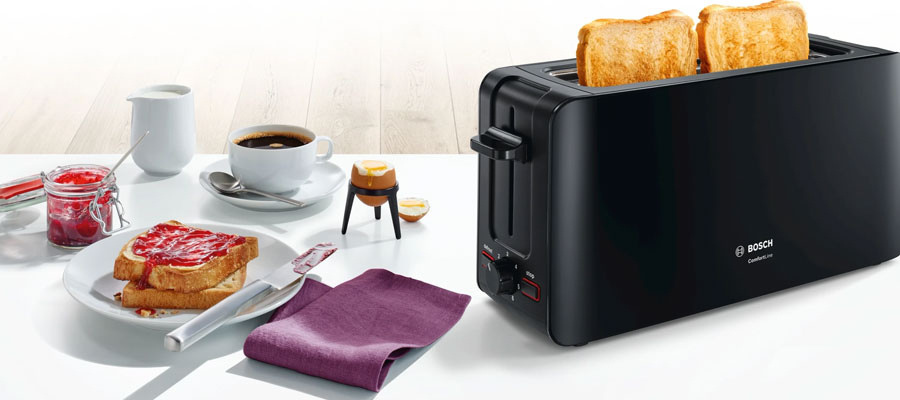 Bosch TAT6A003 Toaster Grey DOMINOKALA 04 - توستر بوش TAT6A003
