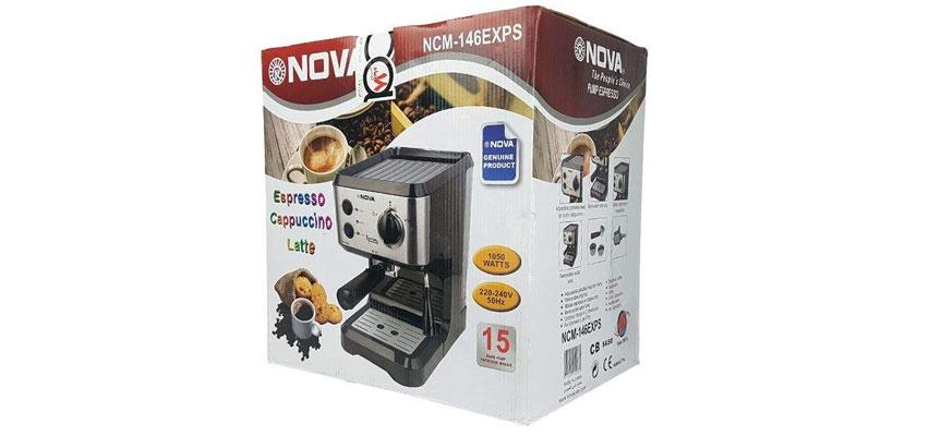 NOVA 146 Espresso Maker dominokala 07 - اسپرسوساز نوا NOVA 146
