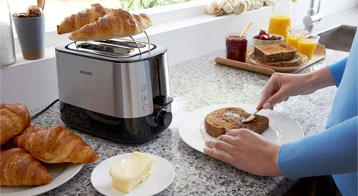 PHILIPS toaster HD2637 dominokala 05 - توستر فیلیپس HD2637