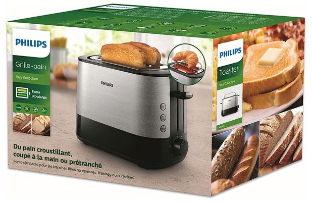 PHILIPS toaster HD2637 dominokala 06 - توستر فیلیپس HD2637