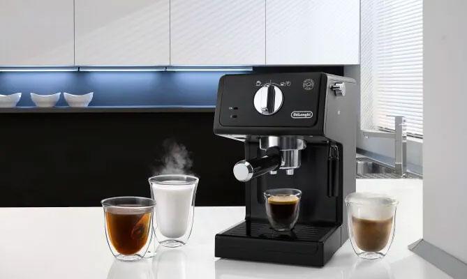 PUMP ESPRESSO COFFEE MACHINES ECP 31 dominokala 07 - اسپرسوساز دلونگی ECP3121