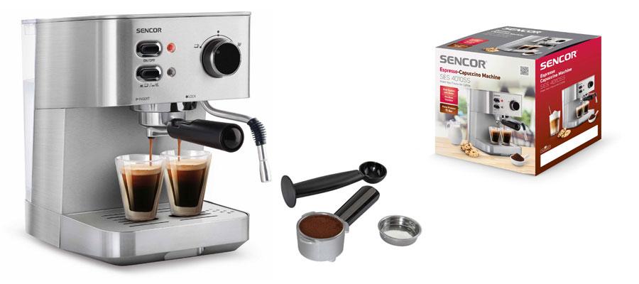 sencor espresso maker ses 4010s dominokala 012 - اسپرسوساز سنکور SES 4010SS