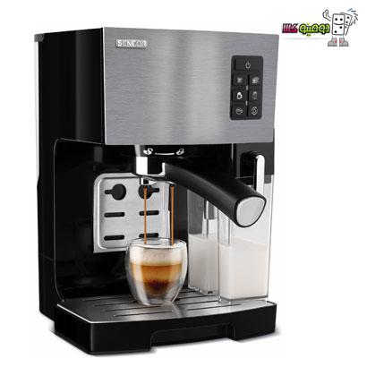 sencor espresso maker ses4050ss dominokala 01 - بدون دانستن این نکات قهوه ساز یا اسپرسوساز نخرید