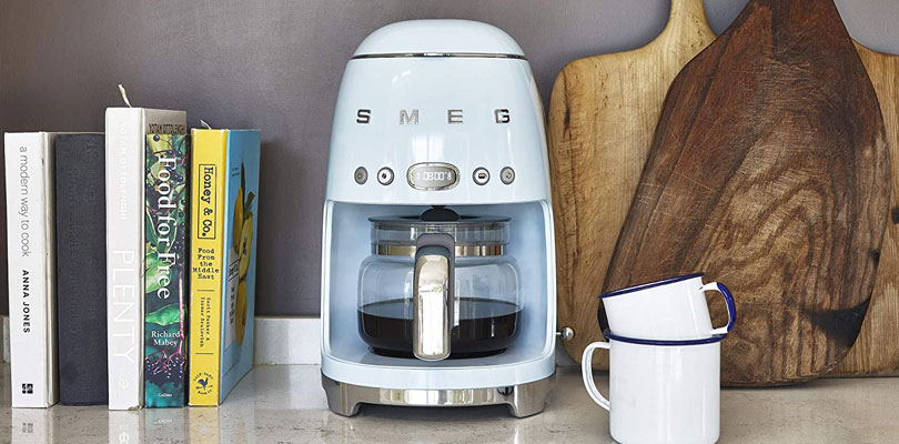 smeg coffee maker DCF02PBUK dominokala 04 - قهوه ساز اسمگ DCF02