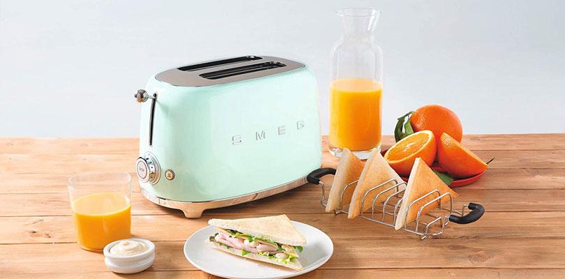 smeg toaster TSF01PBUK green dominokala 05 - توستر اسمگ TSF01