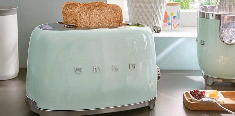 smeg toaster TSF01PBUK green dominokala 06 - توستر اسمگ TSF01