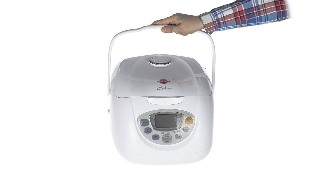 Pars Khazar DMC 101P Rice Cooker dominokala 6 - پلوپز پارس خزر DMC101P