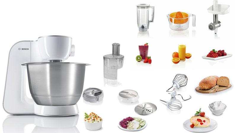 bosch kitchen machine MUM54251 dominokala 011 - ماشین آشپزخانه بوش MUM54251