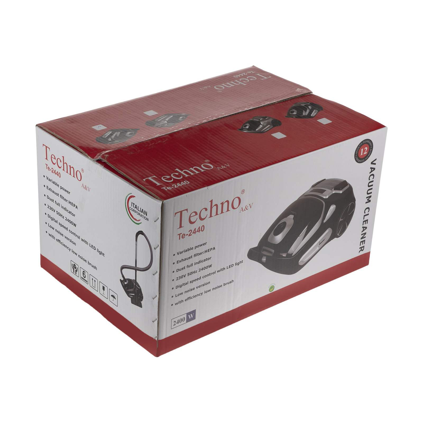 Techno TE 2440 Vacuum Cleaner dominokala 4 - جارو برقی تکنو TE-2440