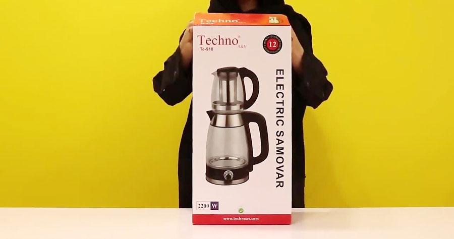Techno Te 910 Tea Maker dominokala 08 - چای ساز تکنو TE-910