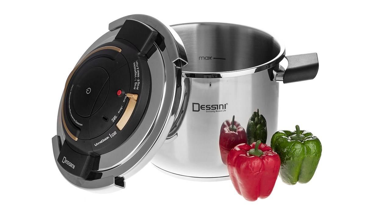 Desini pressure cooker model Vita Cook dominokala 3 - زودپز 6.5 لیتری دسینی ویتاکوک